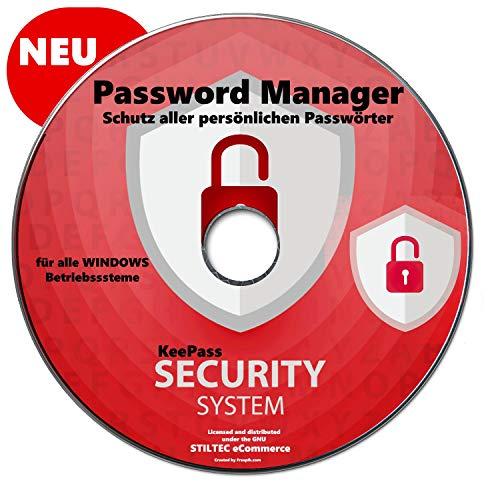 KeePass Password Manager Alle Passwörter in einer Offline-Datenbank für Windows 10-8-7-Vista-XP