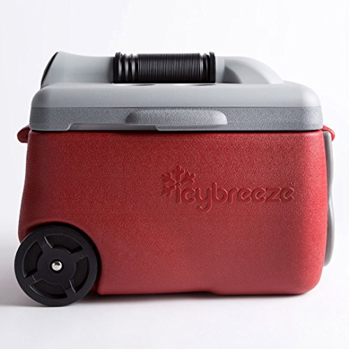IcyBreeze Portable Air Conditioner and Cooler, Molten Red