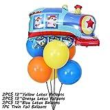 Globos de cumpleaños Dibujos animados niños feliz cumpleaños fiesta decoraciones de bricolaje camión de bomberos globo globo baby shower decoración fondo niño regalos cumpleaños ( Color : D Package )