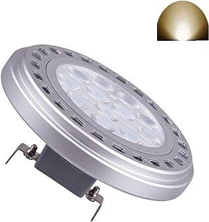 Bombilla LED AR111 G53 15 W 30 ° Beam áNgulo De VisióN Luz 4000K Gran Ac DC12 V Foco Reflector Luces 1200lm 75w 100W 120w QR111 ES111 Bombilla Incandescente HalóGena De Repuesto