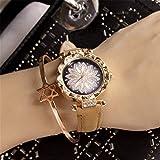 Janly - Reloj de pulsera para mujer, diseño de mujer salvaje, color, talla L