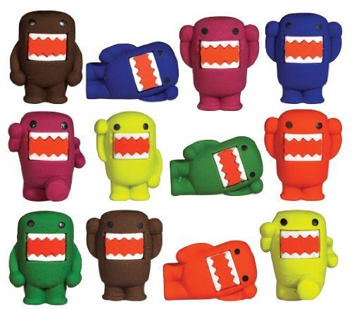 domo enjoy cooking Domo Toy Erasers Lot of 20 by Domo