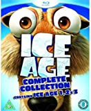 ice age blu ray collection - Ice Age 1-3 Collection [Blu-ray]
