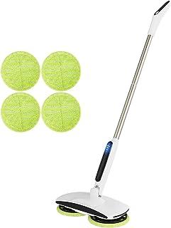 Le balai de vadrouille électrique rotatif sans fil convient au nettoyage et au polissage des sols carrelés dursGOBOT léger...