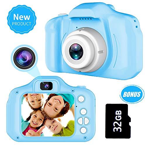 Juguetes para Niños de 3-8 Años Joy-Fun Cámara Fotos Digital 1080P Camara de Fotos para Niños Vídeo Grabar Electrónico Juguete Regalos de Cumpleanos