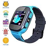 Kinder SmartWatch Digitaluhr mit Taschenlampe Games SOS 1,44 Zoll Touch LCD für Jungen Mädchen...