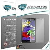 Slabo 2 x Bildschirmschutzfolie für Lenovo TAB 2 A8-50F Bildschirmschutz Schutzfolie Folie No Reflexion Keine Reflektion MATT - Entspiegelnd Made IN Germany
