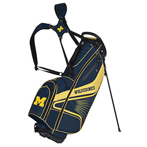 Team Effort Michigan Wolverines Gridiron III Stand Bag