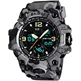 Mens Watches Sports Watch LED Digital and...
