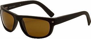 e61052381bcc Vuarnet VL 1412 Sunglasses - Polarized Matte Black/ Polar Brown, One Size