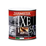 TIXE 409514 Vernici per Alte Temperature, Nero, 500 ml