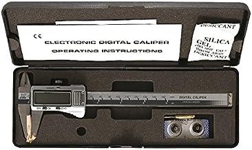 """Paquímetro digital 6"""", Eda, 9QS, Preto, plástico"""
