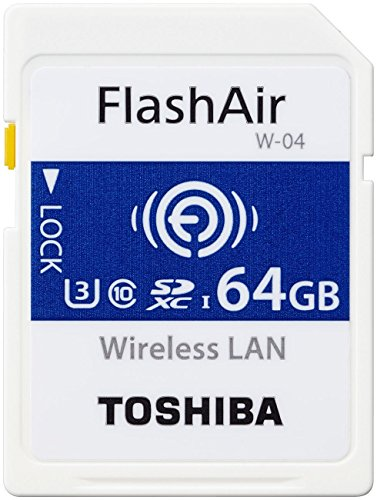 Toshiba THN-NW04W0320E6 32GB FlashAir W-04 Wireless SD Karte