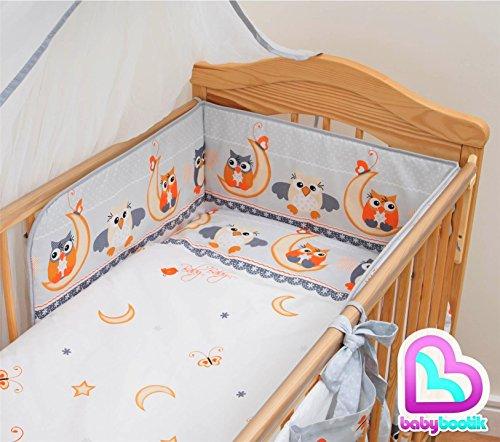 Baby Comfort 3 pièces Chambre Parure de lit pour lit bébé 120x60 cm - motif 6