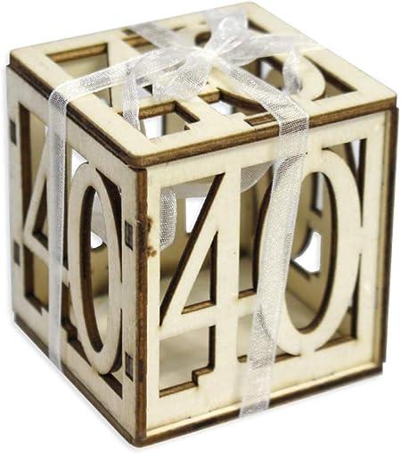 Conosciuto Vetrineinrete® Scatoline portaconfetti 24 Pezzi per Compleanno WU25