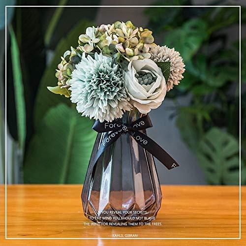 8 x Deep Rose VASI 2 litri l lt pianta vaso di fiori alto in Plastica Nero Forte