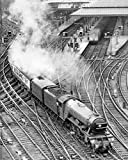 The Flying Scotsman train in Central Station Newcastle 1968