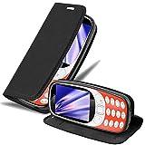 Cadorabo Hülle für Nokia 3310 in Nacht SCHWARZ -