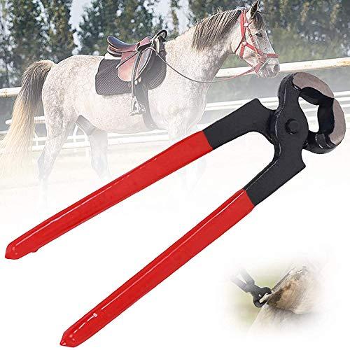 GRX-ADRE Hufzange Hufpflege Klauenpflege,Hufschuh Hufschmied Huf Werkzeug Zange, Professionelle Pferde Schneiden Horse Equine Farriers Cutter Griffmesser Werkzeuge
