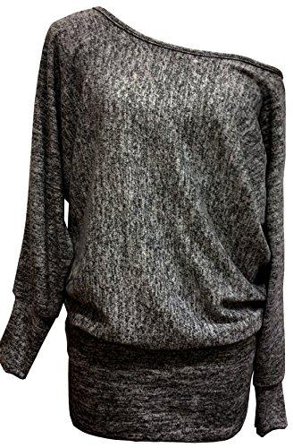 Emma & Giovanni - Sweatshirt - Pullover - Damen (M, Schwarz)