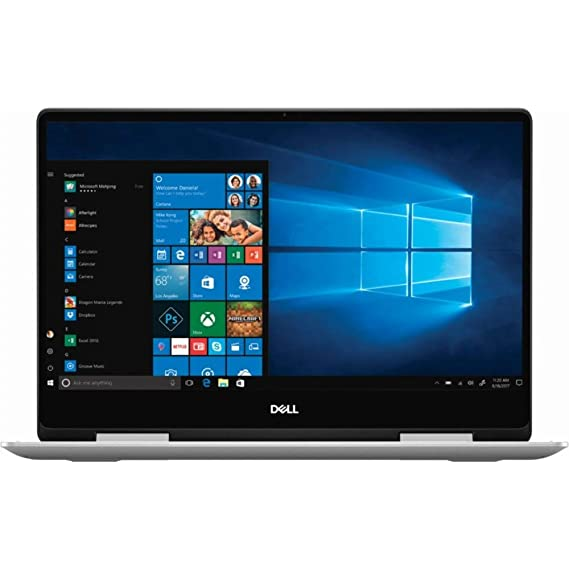 Dell Inspiron 7386 13.3 Inch FHD Touch Thin & Light Laptop (Core i5 8th Gen/8GB/256GB SSD/Windows 10 + MS Office/Integrated Graphics/Silver)Stylus Pen