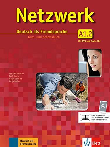 Netzwerk A1 in Teilbänden - Kurs- und Arbeitsbuch, Teil 2 mit 2 Audio-CDs und DVD (Netzwerk / Deutsch als Fremdsprache)