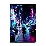 Decoración moderna para el hogar, impresiones en HD, figura japonesa, paisaje de calle, cuadro en lienzo, pintura modular nórdica, póster artístico para pared, ilustraciones para dormitorio