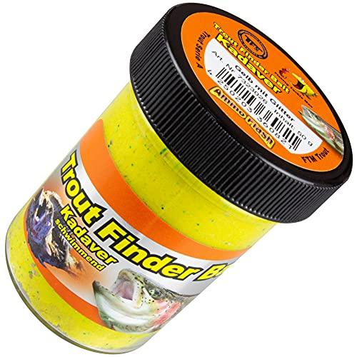 FTM Forellenteig 50g Kadaver schwimmend - Forellenpaste, Farbe:gelb