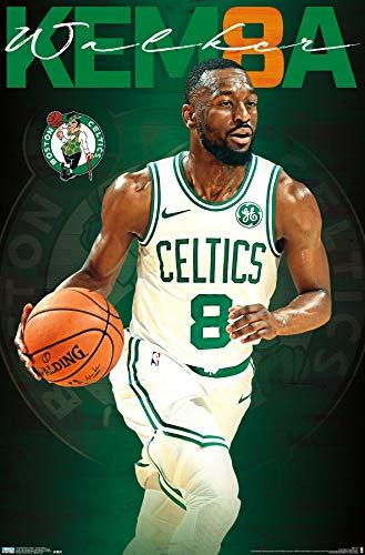 Trends International NBA Boston Celtics - Kemba Walker 19 Wall Poster, 22.375' x 34', Unframed Version