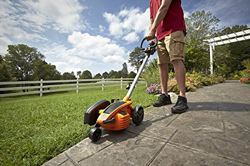 """WORX WG896 12 Amp 7.5"""" Electric Lawn Edger & Trencher, 7.5in, Orange and Black (Renewed)"""