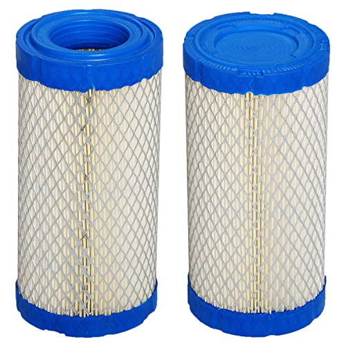 HIFROM 2pcs Air Filter Compatible with Kubota BX1800 T1810 TG1860 ZD18 ZD21 ZD21N ZD221 BX1500 BX1500D BX1800D BX1830D BX1850D BX2200 BX2200D K1211-82320 K2581-82310 Lawn Mower Air Cleaner -  HI5096x2
