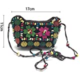 Immagine 1 wohlstand borsa cellulare tracolla fiori