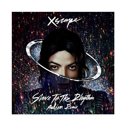Poster su tela, motivo: cantante e ballerino, Michael Jackson XSCAPE The Album Cover 2, decorazione da parete per soggiorno, camera da letto, 40 x 40 cm