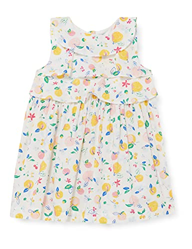Petit Bateau Baby-Jungen 5968001 Kleid, Marshmallow/Multico, 98