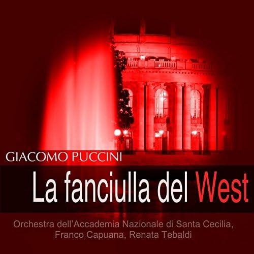 Orchestra dell'Accademia Nazionale di Santa Cecilia, Franco Capuana, Renata Tebaldi