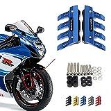 ZMMWDE Protector de Horquilla Delantera de Motocicleta Guardabarros Accesorios de protección Deslizante Guardabarros,para Suzuki GSX-R 600 1000750 K4 GSXR 600 1000750 K4 Titanio