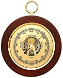 Fischer Barometer Pascal, Brass-Mahogany 5.5'/140 mm - 1366R-22 (Display English)