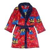 LEGO Movie 2 Little/Big Boys Long Sleeve Fleece Robe, Red, 4/5, 4-5