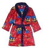 LEGO Movie 2 Little/Big Boys Long Sleeve Fleece Robe, Red, 10/12, 10-12