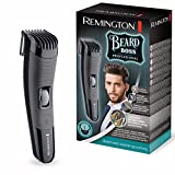 Remington Bear Boss MB4130 Barbero, Cuchillas Titanio, Recargable, Litio, 13 Ajustes, Negro y Gris