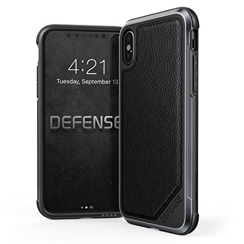 iPhone X Case, X-Doria Defense Lux Series - Military Grade Drop...