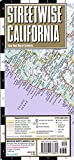 Streetwise California Map: Laminated State Road Map of California