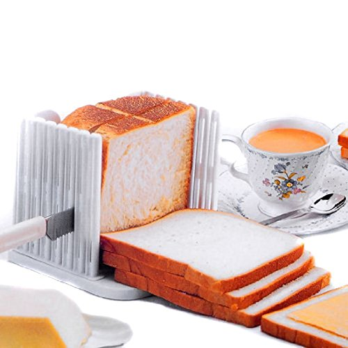Bread Machine Parts & Accessories - Bagel Maker Machine - Bread Cutting Board - Bread Maker Machine - Plastic Foldable And Bread Slicer Toast Loaf Sandwich Mold Baking Tools Gadgets