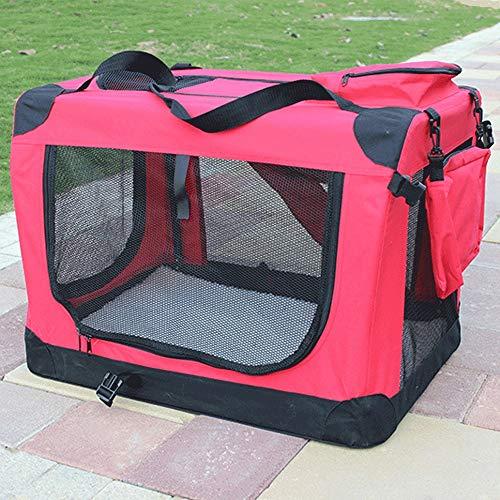 Wen Ying Super großer Hundekäfig waschbar Hundehütte Golden Retriever Hundehütte Haustierzelt Haustierbett (Color : A)