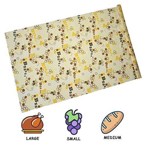 Macabolo bijenwas levensmiddelverpakking Eco Friendly herbruikbaar duurzaam voedsel opslag verpakking papier 100 * 33cm