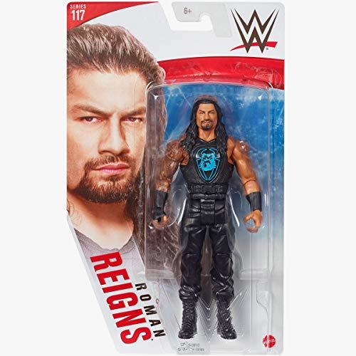 WWE Serie 117 - Roman Reigns - Figura de acción, lleva la acción de la WWE a casa,...