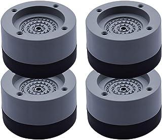 4 lavadoras de uso general, lavadoras y secadoras de amortiguación, lavadoras antivibración, almohadillas de goma antivibr...