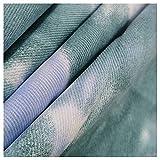 Gewaschener Denim 100% Baumwolle Designer-Stoff Für