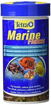 Tetra Marine Fish Food Flakes, Complete Fish Food for All Marine Fish, 250 ml