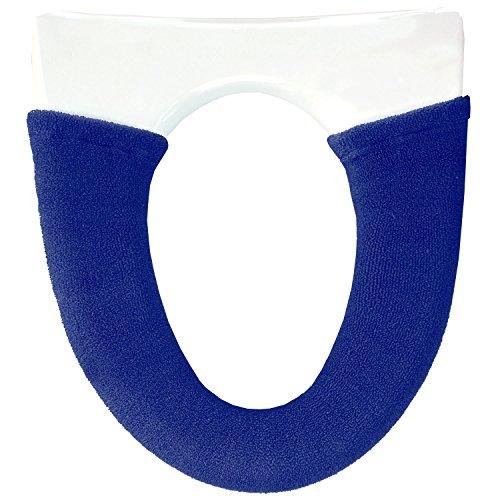 オカ うちねこ 洗浄暖房型専用 トイレ便座カバー (ブルー)